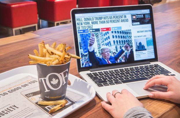 Toronto Fries Trump