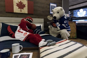 Carlton and Raptor bedtime story