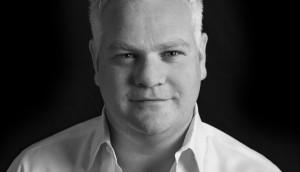 Stephen Kiely - Portrait B&W