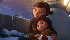 """Cineplex's animated short film, """"Lily & The Snowman,"""" racked up more than 30 million views on Facebook and YouTube. In the U.K., it was voted one of the top ten Christmas films of 2015."""