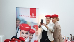 """The """"#RedHatSelfie"""" campaign for Emirates airline generated more than 1.4 million impressions, covered by the likes of Canadian Living, Elle and The Kit."""