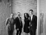 From left to right: Rick Chiarelli, chief growth officer; Matt Hassell, national CCO; Susan Meisels, VP strategy; and Nick Dean, president and CEO.
