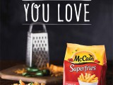 The agency positioned McCain's Superfries as the go-to good for intimate gatherings, like girls' nights, reunions and even couple's nights in.