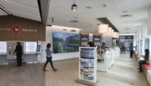 Publicis and their branding division Ove designed Canada Post's new concept store in Richmond Hill Ontario