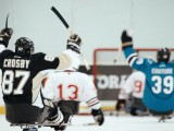To disrupt the idea that only pro athletes represent sports brands, videos of a surprise pickup game between athletes with disabilities and NHL stars, like Sidney Crosby, were filmed for Gatorade.