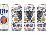 Regionally-inspired beer cans were designed  for Miller Lite, this one for Texas featuring  a Longhorn.