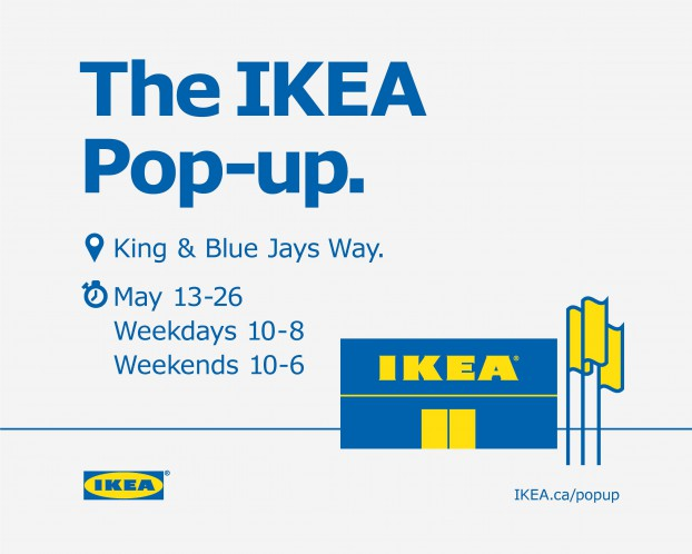 IKEA POP UP_WALL MURAL - PHOTO