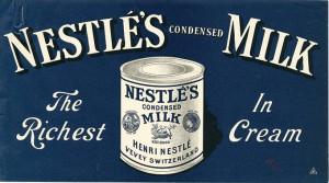 Condensed milk original packaging