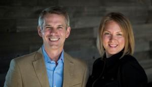 FCB Canada CEO Tim Bowen, Andrea Cook