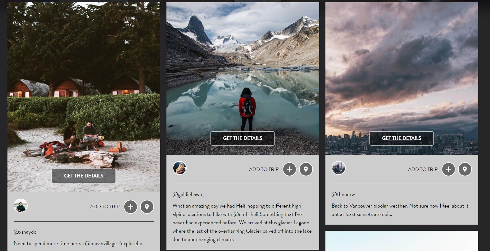 Destination BC's Instagram expansion » strategy