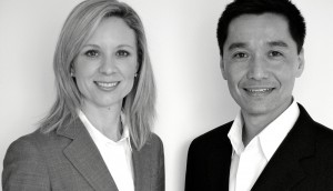 """Susan Weaver and John Chan, managing directors of Pearl Strategy: """"Our clients see us as a partner in their brand strategy and innovation planning process."""""""