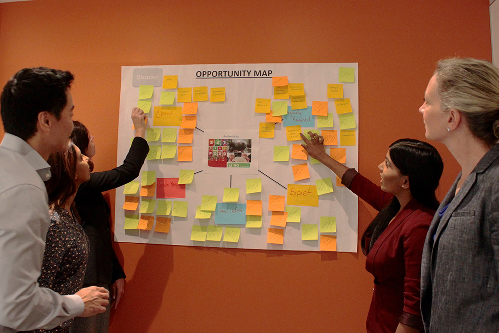 Pearl's innovation workshops are designed to help clients solve their business challenges.