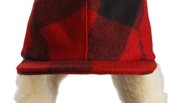 Red Plaid Hunter's cap