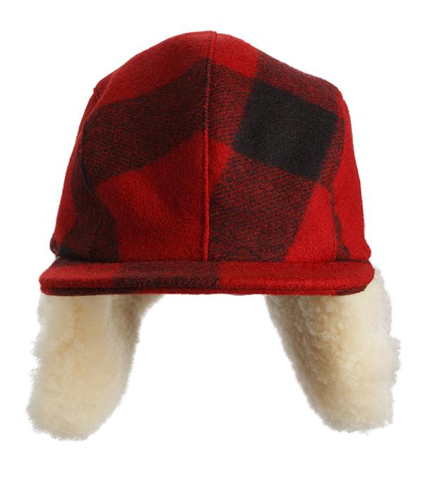 Red Plaid Hunter's cap
