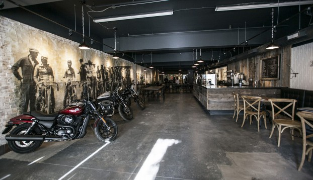 Harley-Davidson Canada-Harley-Davidson rides into Toronto's