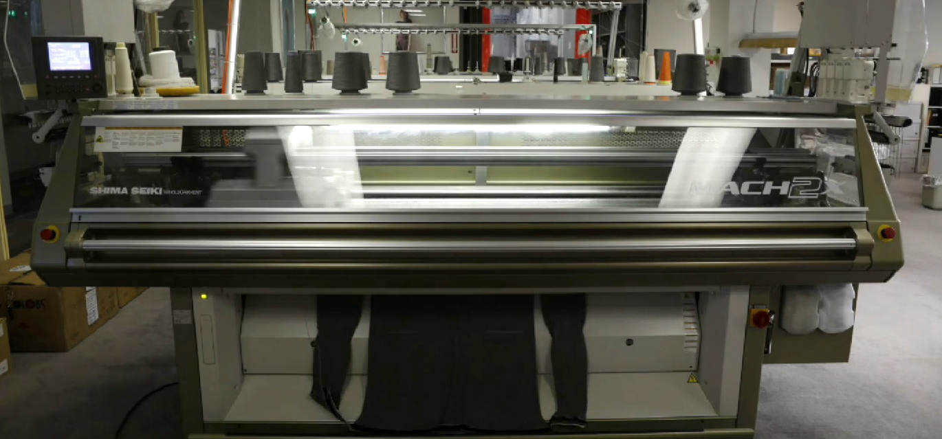 Ministry of Supply's 3D knitting machine