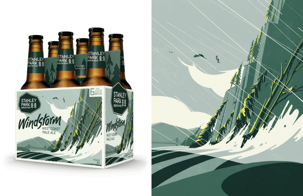 Will's redesigned package and illustration style