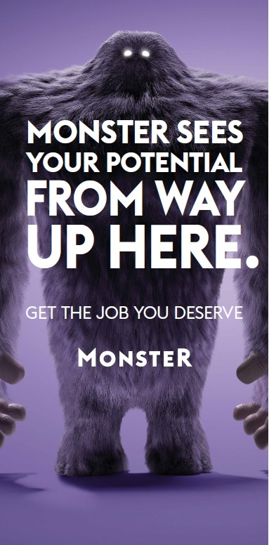 Monster Sees your Potential