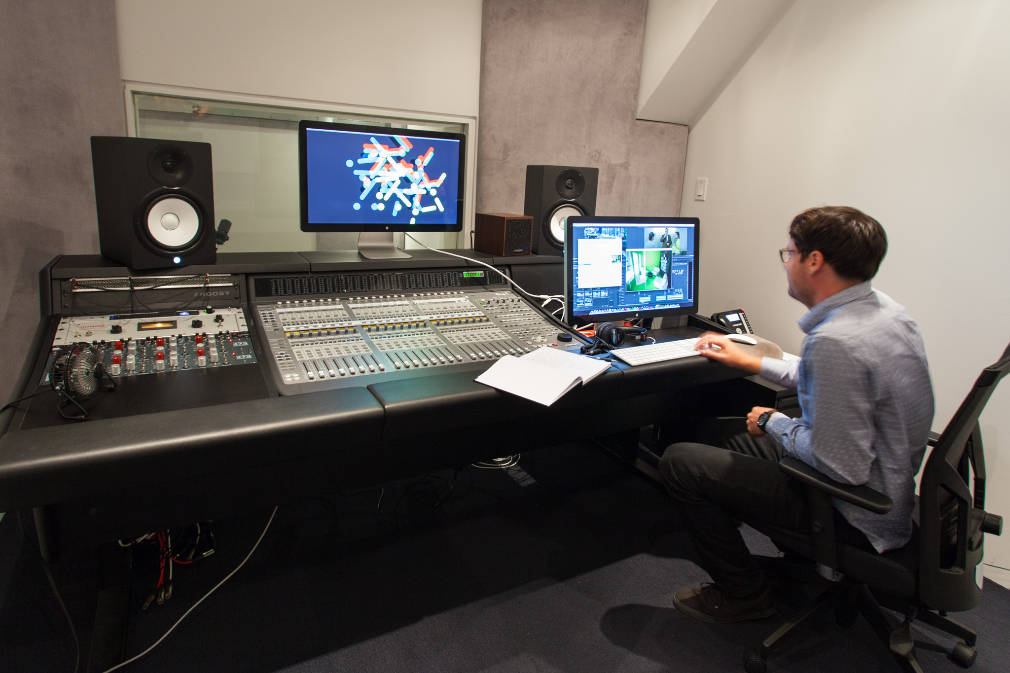 A recording studio, in-house photography and five film editing suites allow Zulu to produce content quickly for all of its clients.