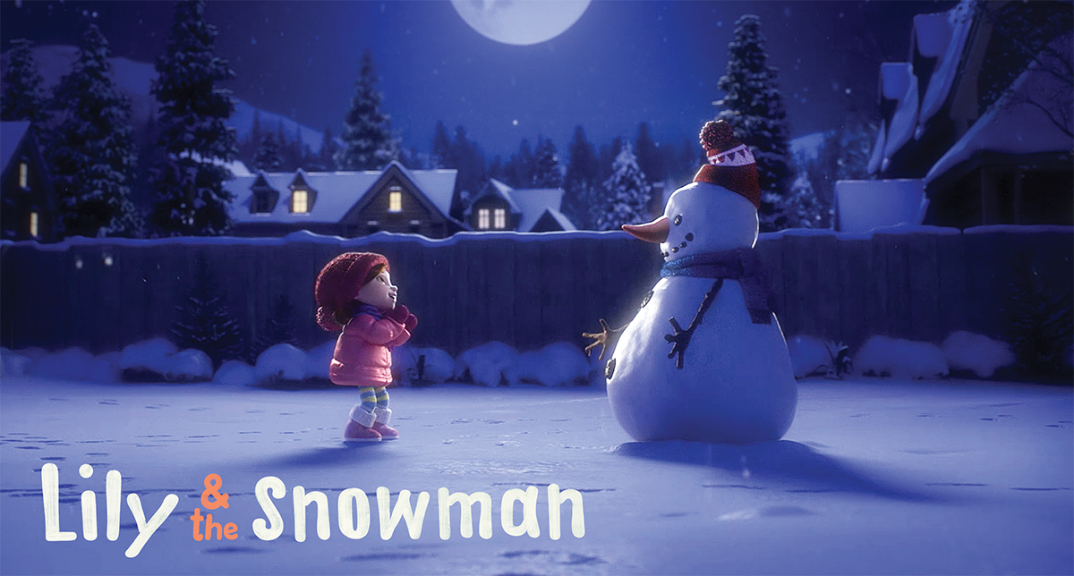 Lily & the Snowman, Zulu's smash viral hit for Cineplex, has now been viewed over 80 million times worldwide.