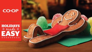 With anthropomorphic ginger bread cookies, Co-op's Christmas campaign was all about showing how it could make holidays easier.