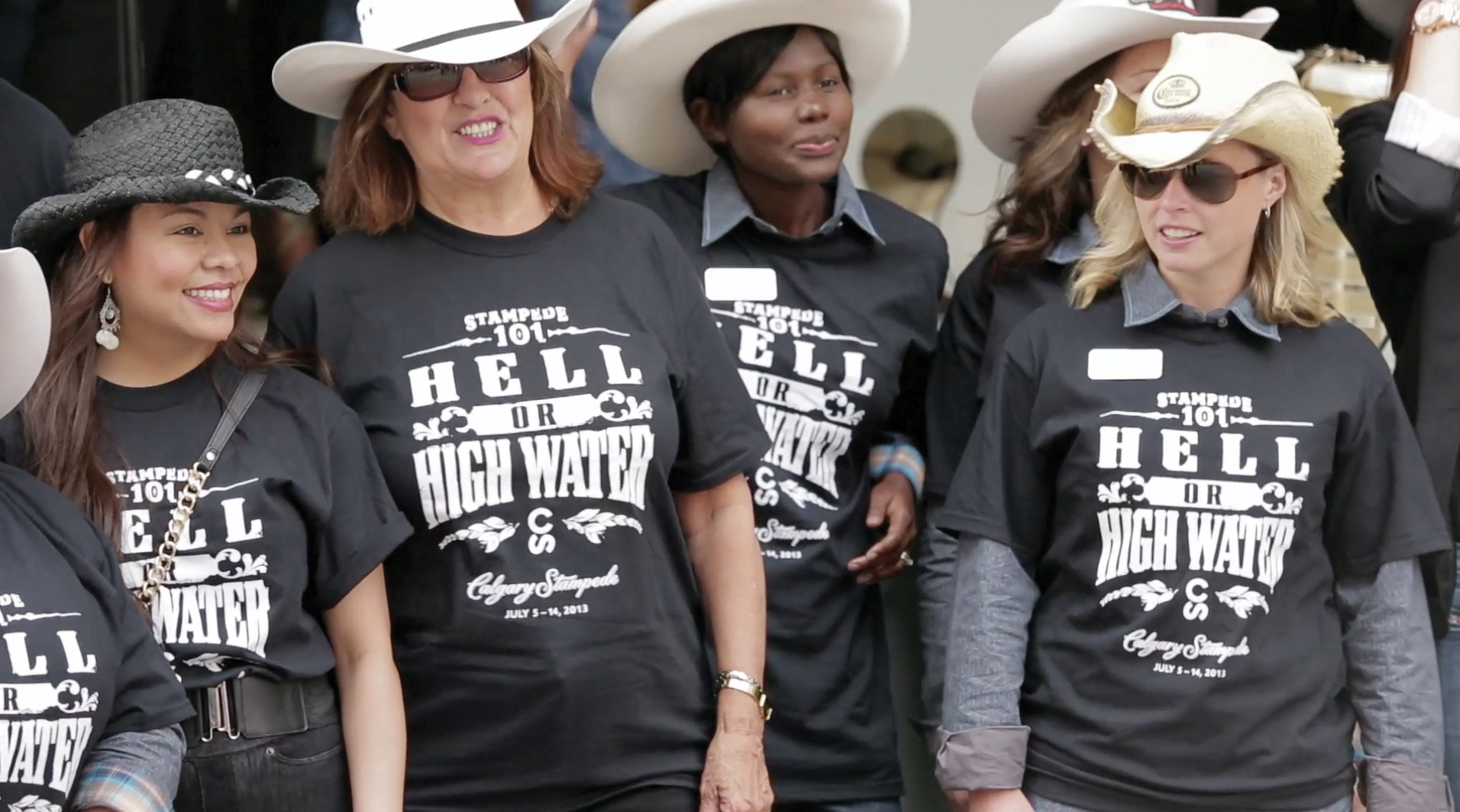 """Damage from Calgary's 2013 flood caused concerns that the annual Stampede might be put on hold. Working with the festival's organizers, the agency created a line of t-shirts emblazoned with the slogan """"Hell or High Water"""" to aid with disaster relief. In the end, the shirts helped raise more than $2 million."""