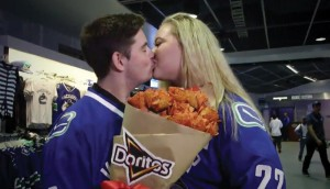 To take the BBDO-created Doritos Ketchup Roses further, Citizen worked with the PepsiCo brand for massive influencer campaign, including a rink-side proposal and a do-it-yourself tutorial.