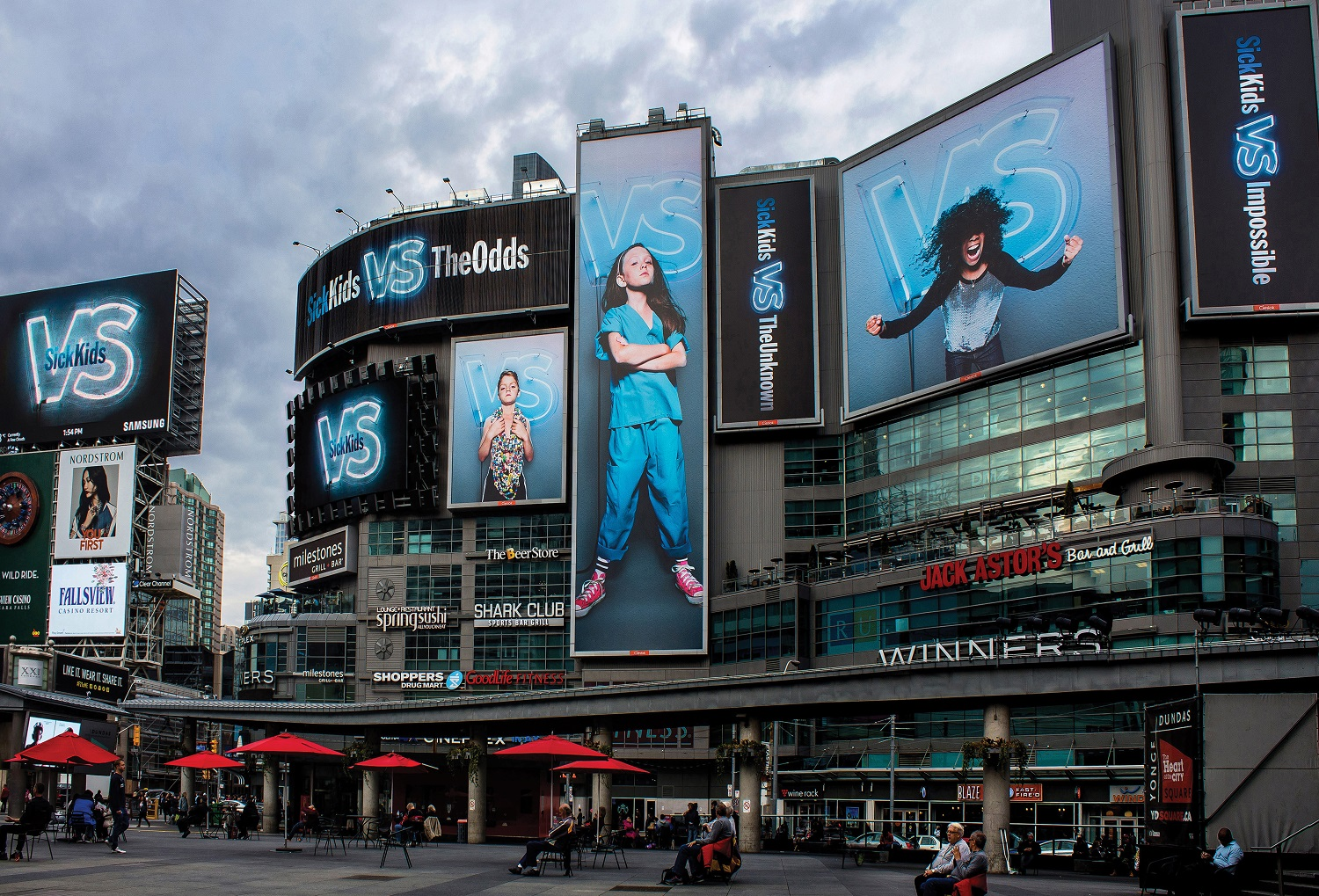 """To change the mentality from """"help us"""" to """"join us,"""" the shop treated SickKids like any other mass brand – creating a new evocative brand platform that helped the hospital net nearly $60 million in a three month window."""