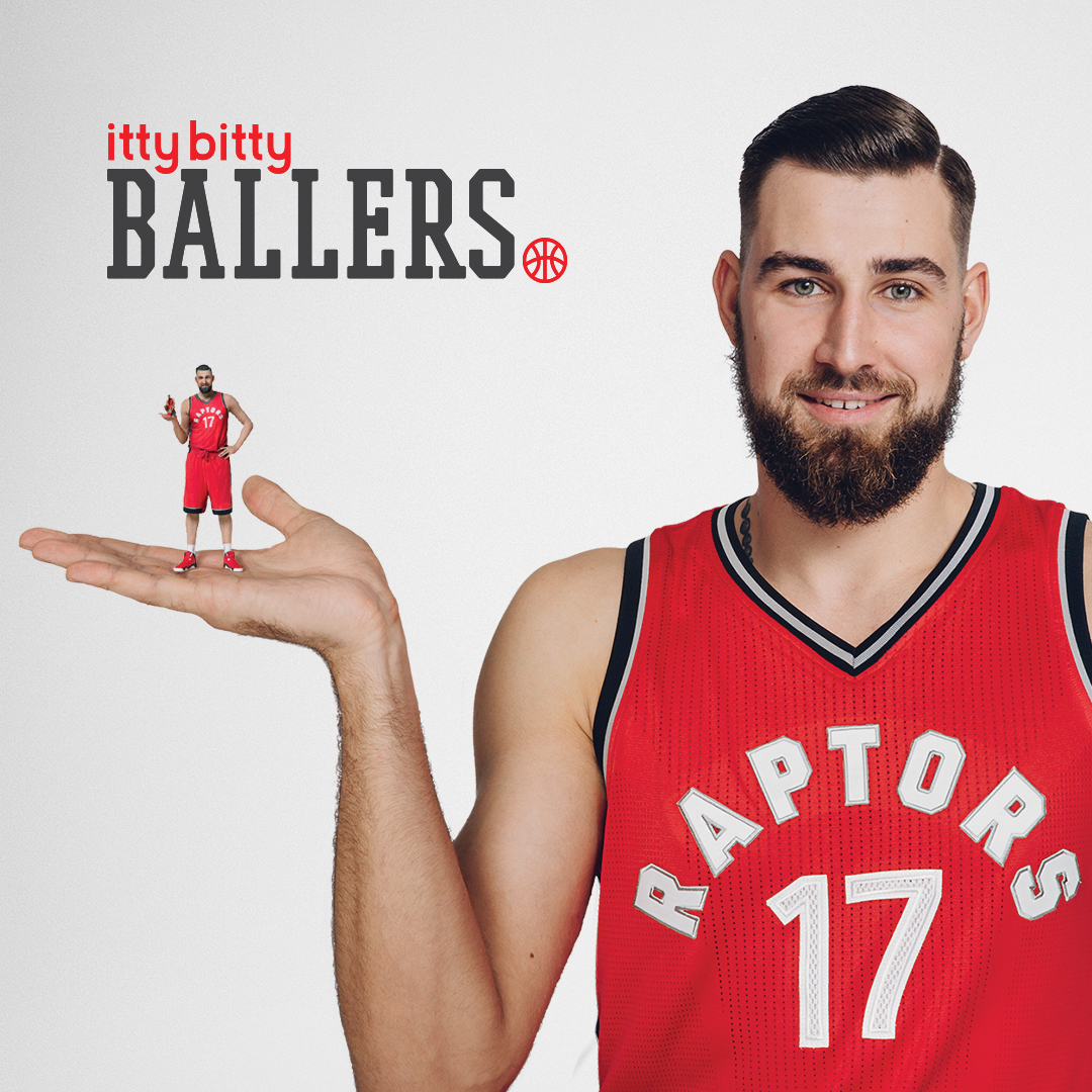 Tapping Raptor's baller Jonas Valančiūnas, JP\TBWA showed off how easy it is to create a website with GoDaddy and get business booming.