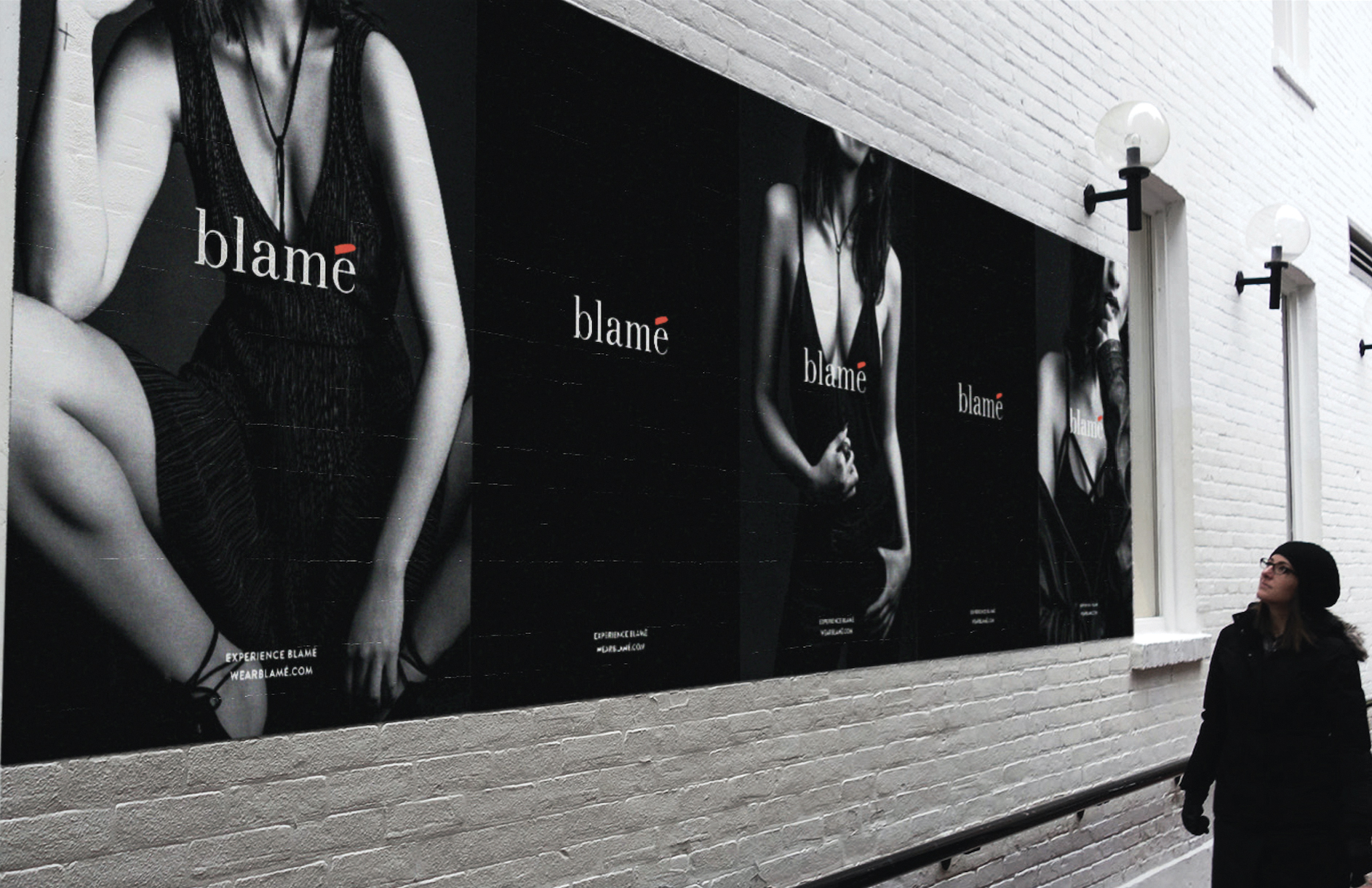 The agency created a pop-up shop selling a fictitious label to call out naysayers who put the blame on rape victims.