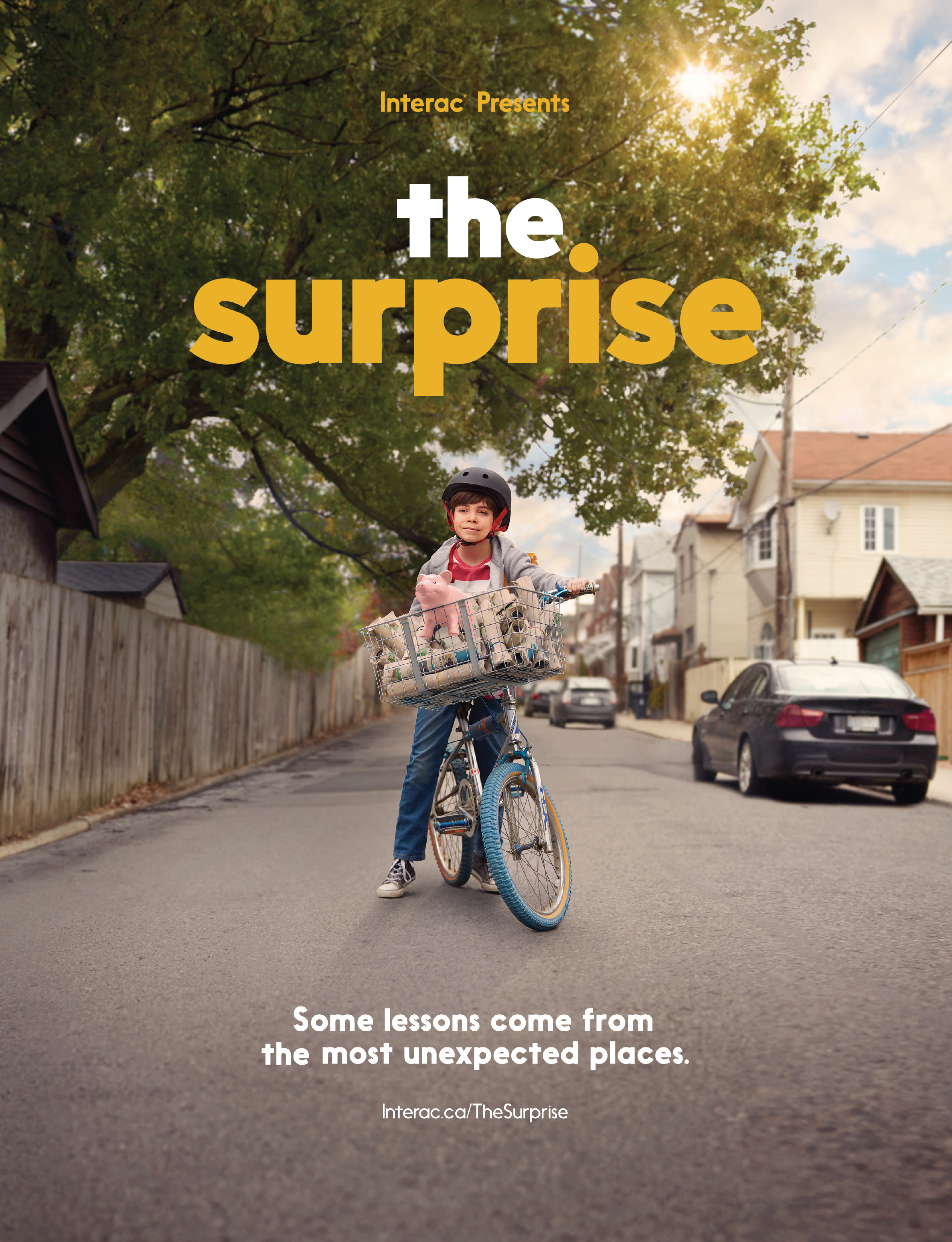 A branded content film for Interac struck a chord emotionally, telling the story of a boy who saves to buy a dog but gets a big surprise along the way.