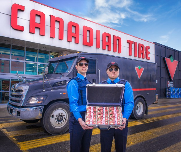 CANADIAN TIRE CORPORATION- LIMITED-Canadian Tire gives its quint