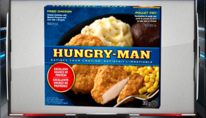 Working with Pinnacle Food brand Hungry Man, Active placed premium sponsorship on Sportsnet.