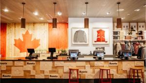 Cash Desk Roots Cabin Yorkdale