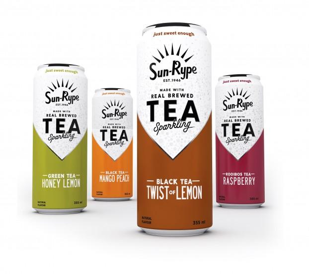 Sun-Rype Products Ltd--SunRype Debuts a Refreshing New Tea Lineu