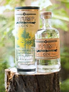 Stump Bottle, Tube and Glass