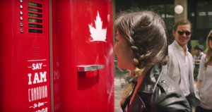 The Molson Canadian Global Beer Fridge
