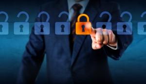 Locking A Virtual Lock In A Lineup Of Open Locks