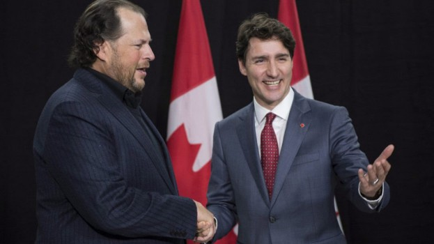 Benioff Trudeau