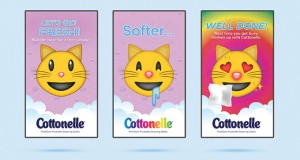 """The Win: Cottonelle """"Stroke-able Billboard"""" by Mindshare Canada/Ogilvy & Mather Bronze Niche Targeting"""