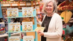 Honey Nut Cheerios-Canadian Author Paulette Bourgeois showcasing