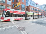 The comprehensive media plan for the re-launch of Diet Coke included streetcar wraps and subway ads, complemented by Instagram Stories, YouTube banners and large-format out-of-home.