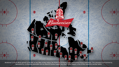 Budweiser Goal Notification App Case Image