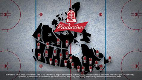 Budweiser Goal Notification App Case Image