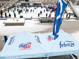 In support of local charity, Skate to Great, the Febreze Hockey Heroes program
