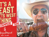 Billboards and bus shelters were part of, 'It's A Stampede Thing', campaign created by C&B for the 2017 Calgary Stampede. It also included TV, digital, social, print and radio.