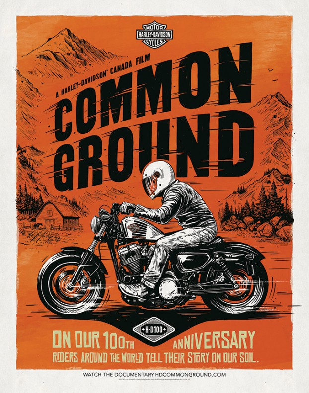Harley-Common-Ground-Riding-Hard
