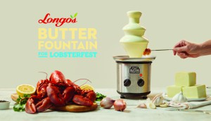 Longos Butter Fountain w Logo