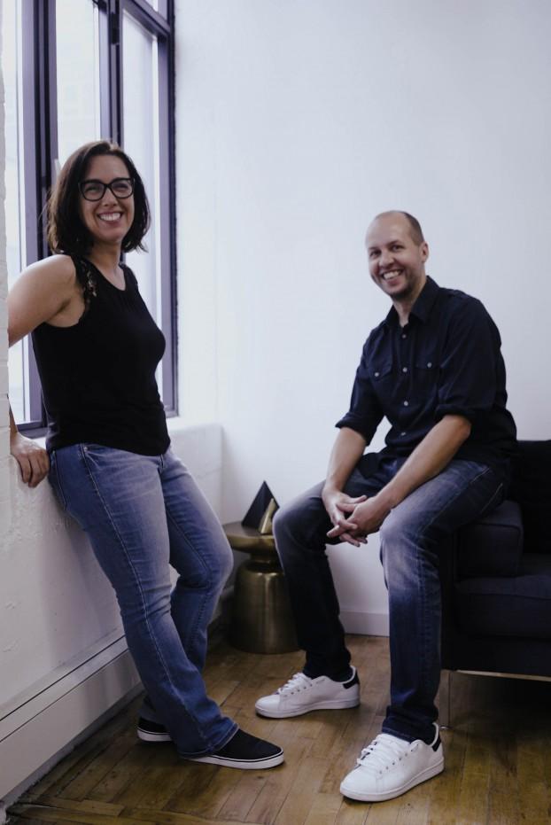 Florencia Courtaux (left) and Dan Clark (right)