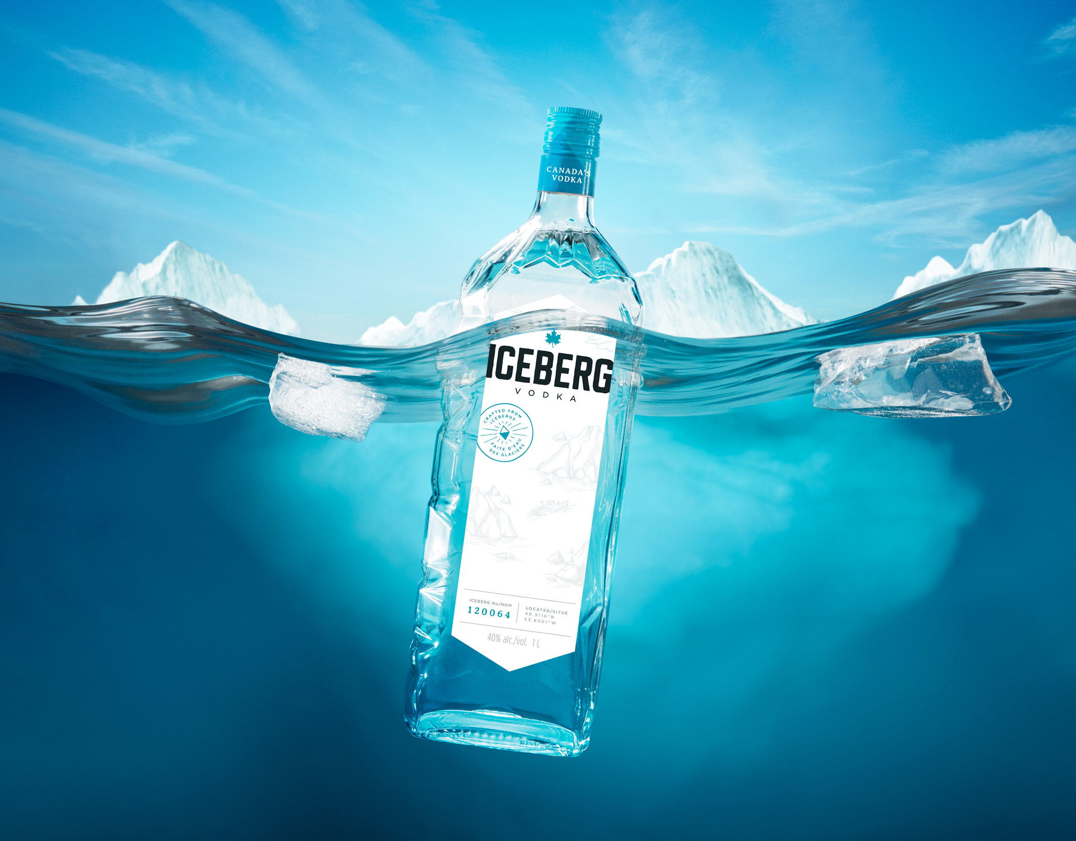 100% authentic 0dca0 8fa68 Iceberg Vodka gets a new look » strategy